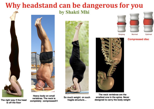 Why headstand can be dangerous for you | Prana Yoga College