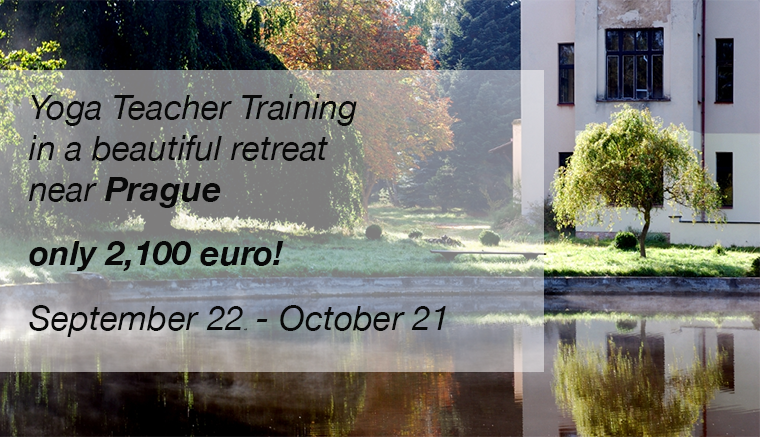 Yoga teacher training in Prague September 2014