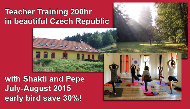 Teacher training Czech Republic, July 2015