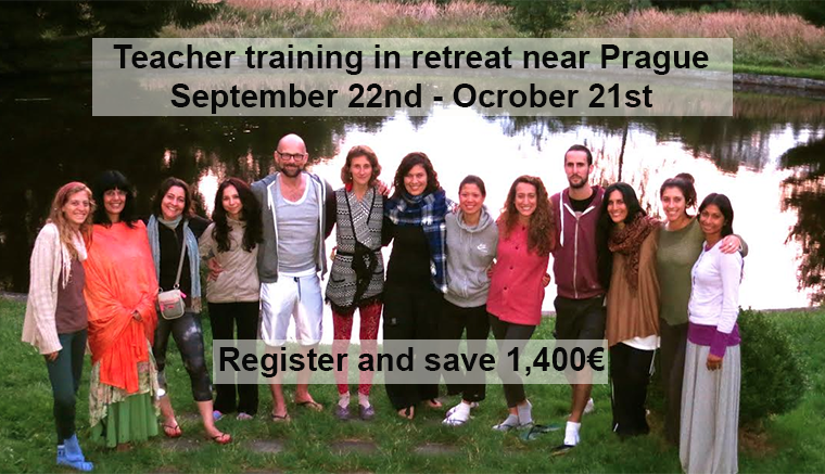 Yoga teacher training in Prague September 2014