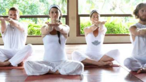 Yoga retreat with Shakti & Pepe in Prague, July 2014