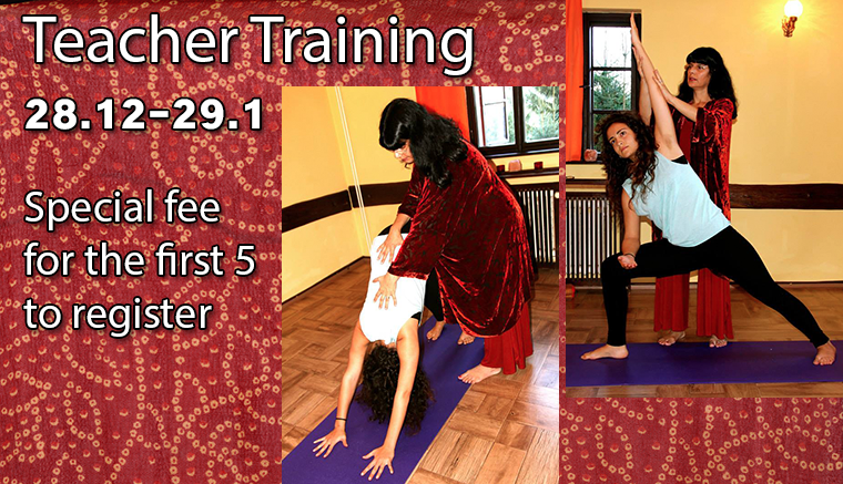 Teacher training December 2014